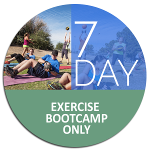 7 day exercise bootcamp only