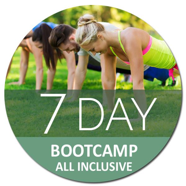 7 day all inclusive boot camp